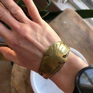 Jen's Pirate Booty copper thunderbird bracelet